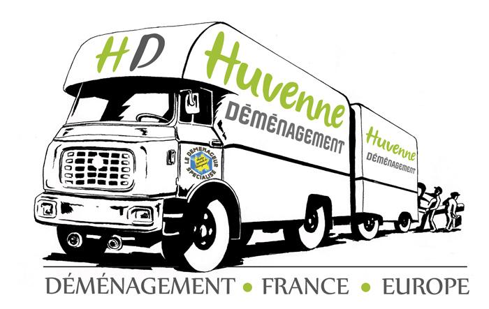 logo Huvenne Déménagement
